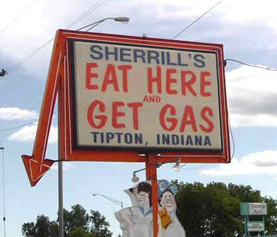 Eat Here and Get Gas