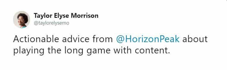 Taylor Morrison Shine tweet 1