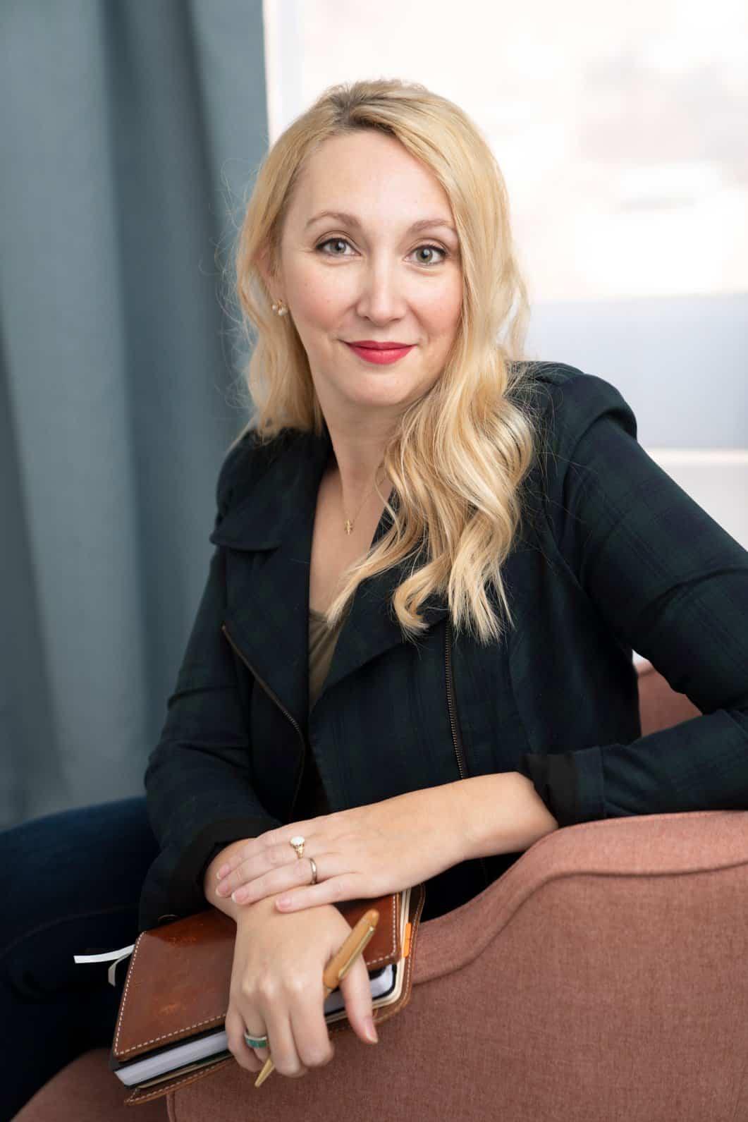Jessica Mehring Copywriter Portrait